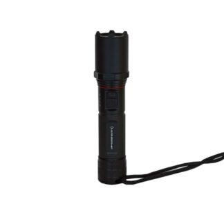 LED Zaklamp zwart oplaadbaar Midi waterdicht– LichtDonker